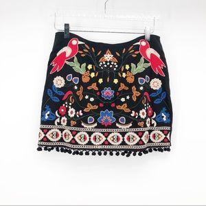 UMGEE embroidered skirt